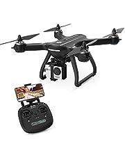 Holy Stone Drone HS700 FPV con videocamera HD 1080p torna a GPS RC Quadcopter per adulti Principianti con motore brushless Seguimi WiFi Transmission 5G Compatibile con videocamera