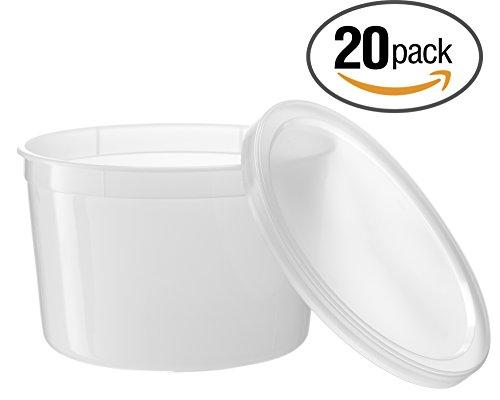 64 oz plastic container - 3