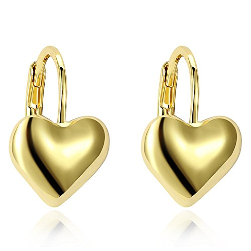 Stylish clip-on silver Earrings jewelry gifts for women girls presents Wedding