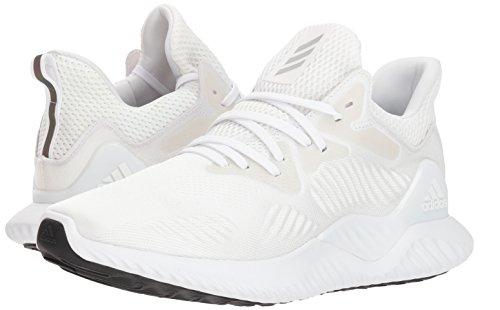 adidas Men's Alphabounce Beyond Running Shoe white/Silver Metallic/White, 7.5 M US by adidas (Image #5)