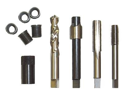 TIME-SERT M12 X 1.50 Metric Drain Plug Repair - Handle Kit X-square