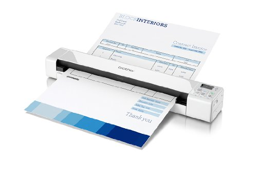 Brother DS-820W Wireless Document Scanner (Scanner Wi Fi Portable)