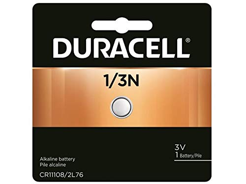 - Duracell DL1/3N CR1/3N 2L76 5018LC 5008LC CR11108 K58L 3V Lithium Battery
