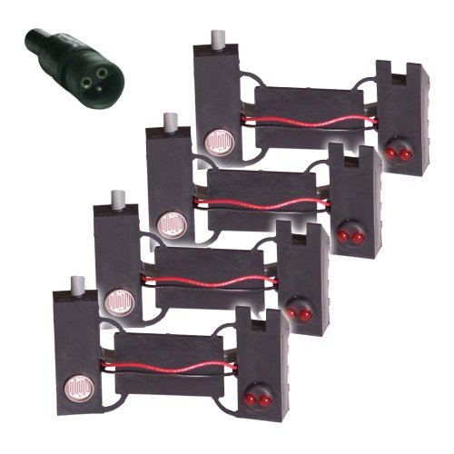 Sensor-1 PS-SS-4 4-Pack Planter Sensor with 33-Inch Lead and Cannon Sure Seal Connector ()