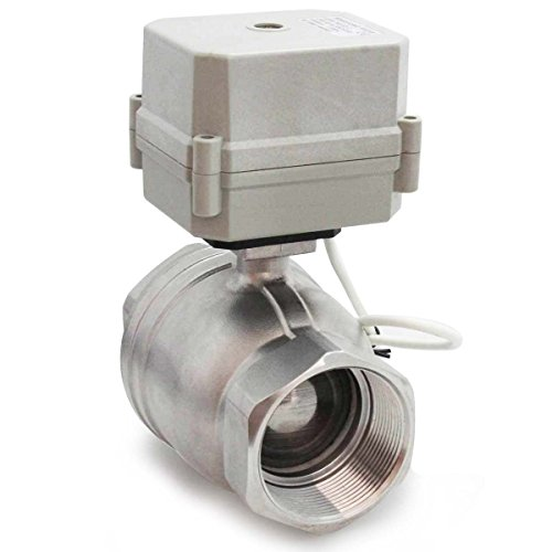 3 Way Modulating Valve - AKENT Motorized Ball Valve SS304 1-1/2