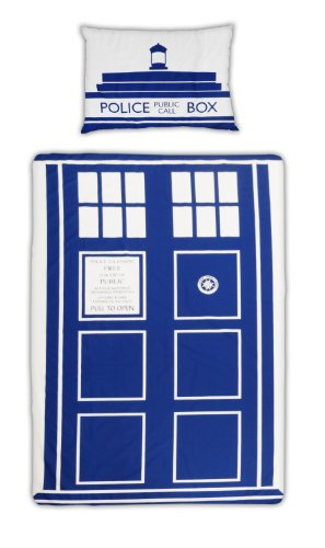 Doctor Who Tardis Single Duvet Set