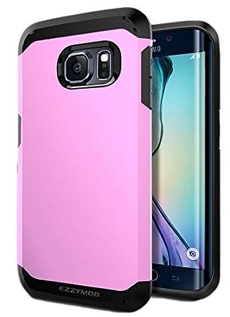 Samsung Galaxy S6 Edge Carcasa, EZZYMOB® Carcasa para Galaxy S6 Edge, resistente a golpes, antiarañazos, Armor Case para Samsung Galaxy S6 Edge.