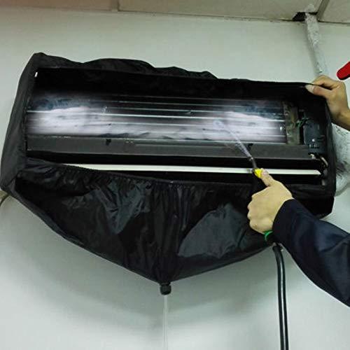 Essort Housse de Climatiseur 2-3P Climatiseur Couvercle Nettoyage Usine Direct /Étanche HVAC Climatisation Cover Climatiseur Antipoussi/ère Veste sans Tuyau pour 1-1.5P 1.5-2P 2-3P Climatiseurs