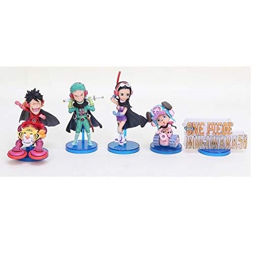 DVWW Anime One Piece World Collectable Figure Wcf Wfc Mugiwara56 Vol.1 Luffy Ace Sanji Zoro Katakuri Marco Mini PVC Figures Toys