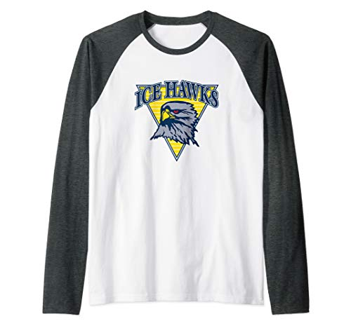 Havre Ice Hawks - Hockey Fan Gear Raglan Baseball Tee