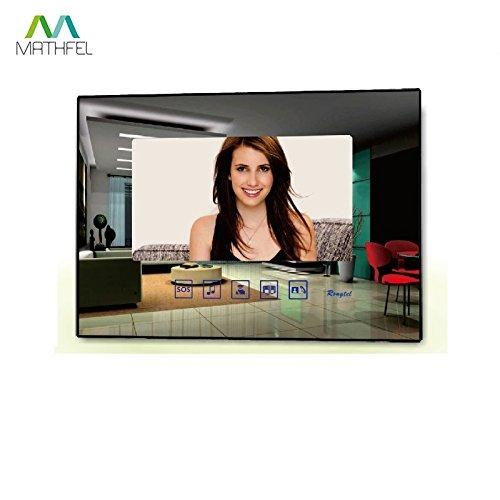 3/De Familia Hogar/ panel frontal en acero inoxidable RAL 7016/Antracita monitor Espejo /Videoportero con C/ámara