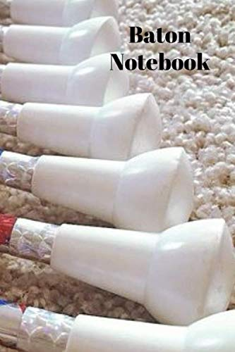Costumes Majorette Uniforms - baton notebook: lined journal to write notes in for your dance moves