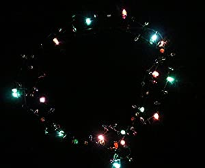 Lotsa Lites Christmas Holiday Flashing Light Bulbs Necklace (sold individually) by Carol Wright Gifts