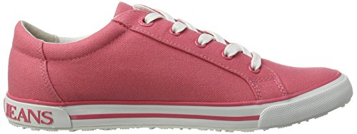 Armani Jeans Dame 9252257p614 Sneakers Pink (lys Geranio) abQcKYt4Y