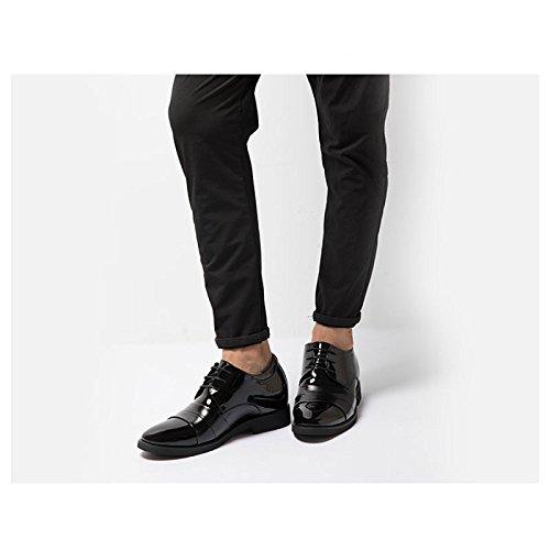 Mr Noir Classiques En Lacets Cuir Derby Chaussures Bottom eDWH29YEI