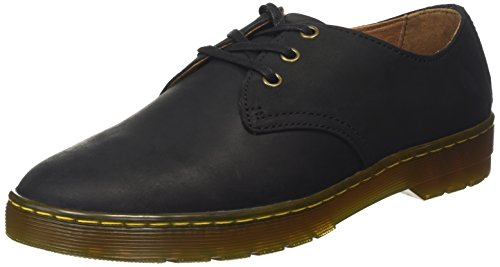 Dr. Martens Men's Coronado Oxford, Black, 9 UK/10 M (Coronado Slip)
