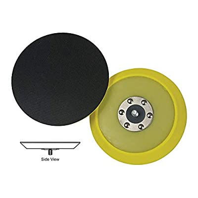Lake Country - Dual-Action Hook & Loop Flexible Backing Plate - 5 Inch Diameter: Automotive [5Bkhe1015103]