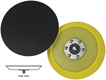 B0008G1RDK Lake Country - Dual-Action Hook & Loop Flexible Backing Plate - 5 Inch Diameter 41MtcgmkuyL