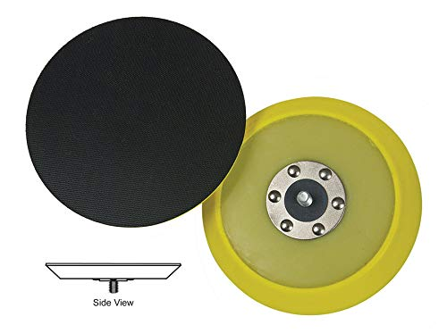 (Lake Country - Dual-Action Hook & Loop Flexible Backing Plate - 5 Inch Diameter)