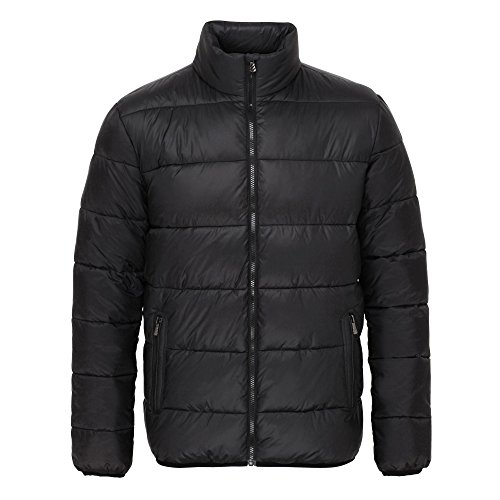 Jacket Venture Mens Zip Supersoft Full black Black 2786 Padded dYfwxS5xn