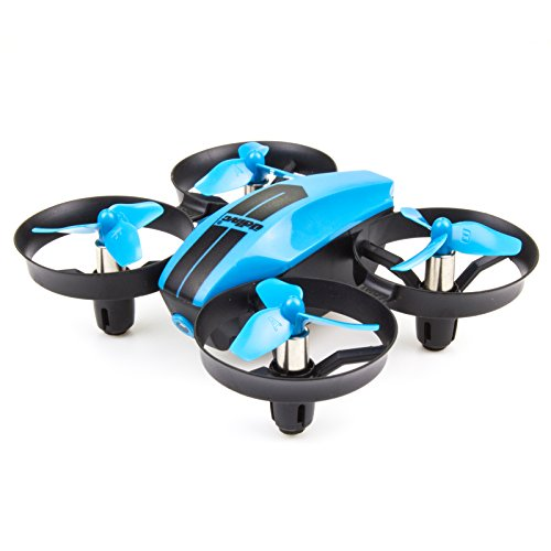 UDI U46 Mini Drone for Kids 2.4G 4CH RC Drones with Altitude Hold Headless Mode One Key Take Off Landing Nano Quadcopter for Beginners Flying Training, Blue