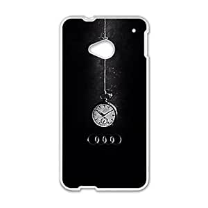 Happy Audi unique clock fashion cell phone case for HTC One M7