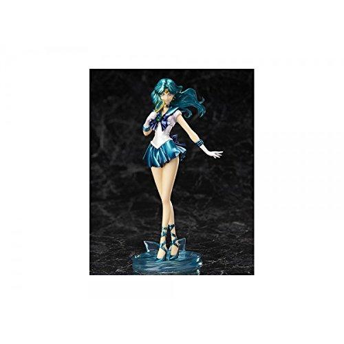 Bandai Tamashii Nations Figuartszero Neptune Pretty Guardian Sailor Moon Crystal Statue Action Figure
