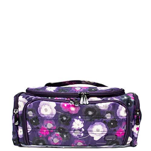 - Lug Women's Trolley Cosmetic Case, Water Purple
