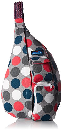 KAVU Rope Bag, Got Dots, One Size (Bag Pink Snowboard)