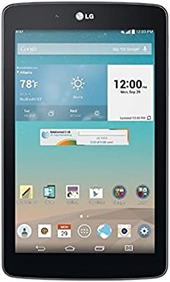 Amazon Com Lg G Pad V410 16gb Unlocked Gsm 7 Inch 4g Lte Android Tablet Pc Dark Gray No Warranty