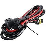 O-NEX HID Relay Harness 9006 9005 9145 40A 12V 35W/55W Heavy Duty Xenon HID Wiring Adapter
