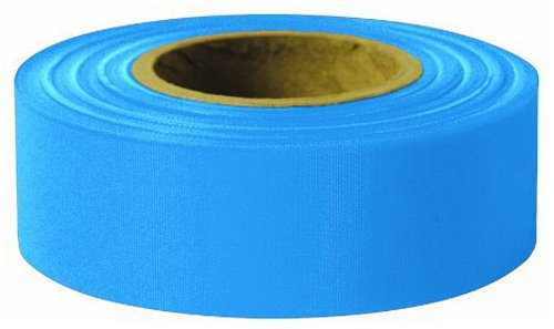 Swanson RFTBL300 1-3/16-Inch by 300-Feet Taffeta Roll Flagging, Blue