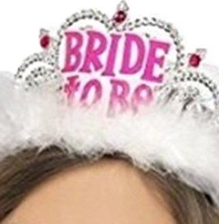 Elegant Bride to Be Tiara for Bachelorette Party. Party Favors, Supplies and Decorations