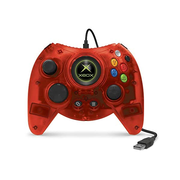 Hyperkin Duke Wired Controller for Xbox One/ Windows 10 PC (Red Limited Edition) - Officially Licensed By Xbox 3