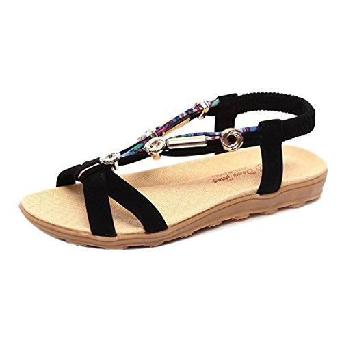 Sommer Sandaler, Kvinner Inkach Sommer Sandaler Romerske Sandaler Damene  Flip Flopspeep-toe Lave Sko