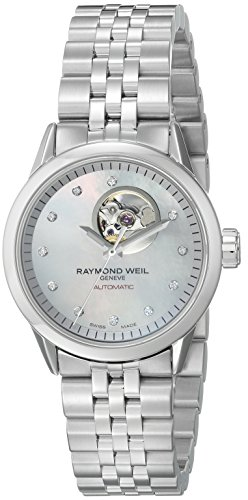 Raymond Weil Women's 2410-ST-97081 Freelancer Automatic Stainless Steel Watch
