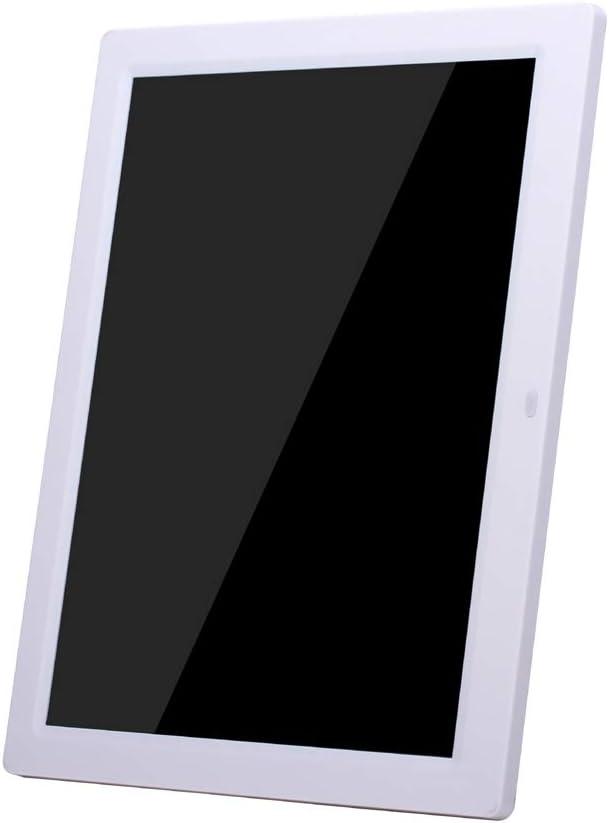 Color : Black ZhiYuan 14 inch High-Definition Digital Photo Frame Electronic Photo Frame Showcase Display Video Advertising Machine Portable