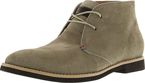 Tommy Hilfiger Hombres Stone Chukka Bota Tan Suede