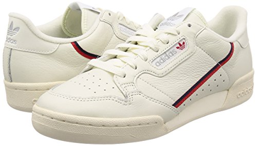 Casbla 000 80 De Hommes Blanc Sport Scarlet Continental Adidas tinbla Chaussures qgBwqH8
