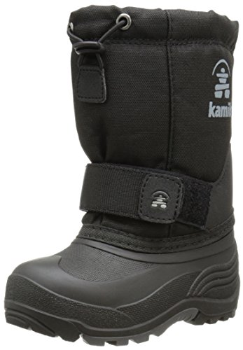 Kamik Rocket Cold Weather Boot (Toddler/Little Kid/Big Kid),Black,2 M US Little Kid (Rocket 2 Boot)