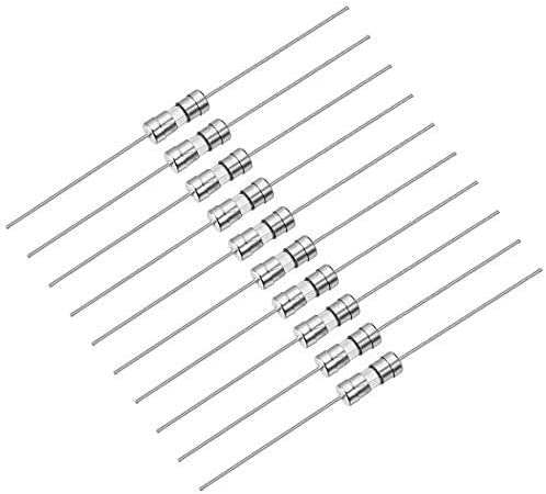 Fast acting fuse Axial lead glass fuses 3.6mm X 10mm 250V F3A 10Pcs