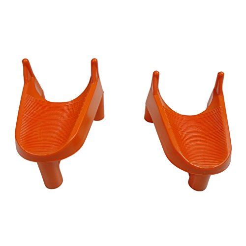 Unanimous Outdoors 2 Pack Combo Bundle Football Kicking Tee Holder for Field Goals, 1 and 2 inch Kicker tees to Help Stand