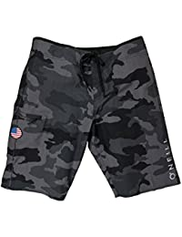 GI Jack Patriotic Camo Hyperfreak Stretch Boardshorts...