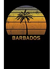 Barbados: Notebook Lined Wide Ruled Paper For Taking Notes. Stylish Journal Diary 8.5 x 11 Inch Soft Cover. For Home, Work Or School.