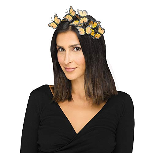 Monarch Butterfly Costume Adult - Fun World Butterfly Headband Adult Costume