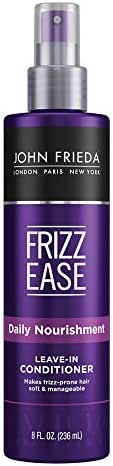Shampoo & Conditioner: John Frieda Frizz Ease Leave-In Conditioner