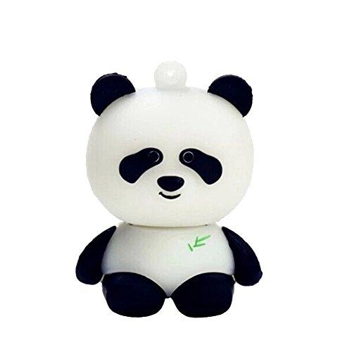- Panda Bear Black White 64GB USB Flash Thumb Drive Storage Device