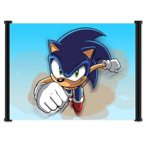 Sonic X Anime Fabric Wall Scroll Poster  Inches -Sonic X-8