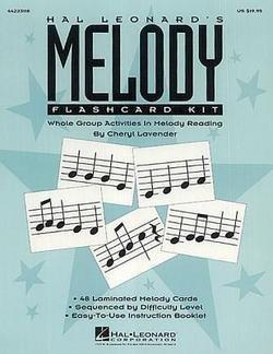 Hal Leonard's Melody Flashcard Kit (Paperback)--by Cheryl Lavender [1994 -