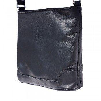 Mini Black Crossbody Soft Shoulder Leather Italian LaGaksta Bag Very 8BqwdU8S